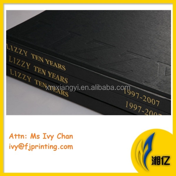 Hardback Book Cover Material : Hardcover book with cloth cover pu