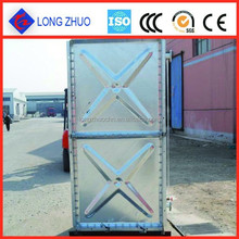 Hot-dipped galvanized pressed steel water tank/ Galvanized Water Pressure Tank for Large capacity