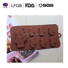 kitchen accessory bargain price the top quality novelty design chocolate molds silicone
