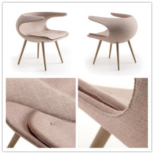 Modern Home Furniture Stouby Frost chair/leisure rocking chair/wood coffee chair