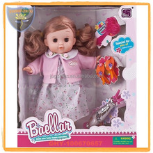 Shantou Factory Plastic Dolls For Sale Funny Doll Toy 12inch with accessory