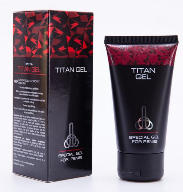 Detail Produk Titan Gel Asli Produk dari Negara Rusia Obat Pembesar Oles
