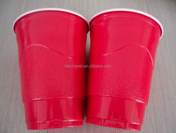 export popular 16oz 473ml colorful disposable plastic cup for party and picnic