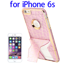 Fast Delivery Protective Plastic for iPhone 6s Phone Case with Holder