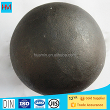 Low Chrome and High Quality 120mm grinding steel ball for ball mill
