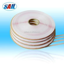Tape for bag sealing, HDPE material from Wenzhou Sail, used for clothes bag