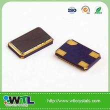 smd 5.0*3.2mm 4pad quartz crystal oscillator usd in Fast Ethernet MII clock