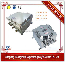 BJX Series explosion proof high voltage flush mounted junction box for IIB IIC DIP