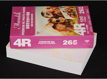 RC glossy inkjet photo paper 270g 4R*100sheets