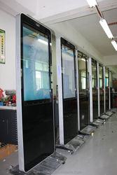 wholesale LCD advertising display with USB cell phone charge