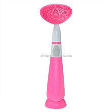 2015 High quality deep cleaning facial silicone face brush / silicone cleaning up brush