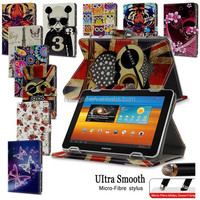 """Hot Sales Universal 7"""" PU Leather Stand Case Folio Cover For 7' 7 inch Android Tablet PC MID With FREE Micro-Fiber Stylus Pen"""