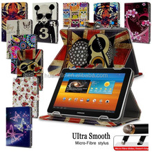"Hot Sales Universal 7"" PU Leather Stand Case Folio Cover For 7' 7 inch Android Tablet PC MID With FREE Micro-Fiber Stylus Pen"