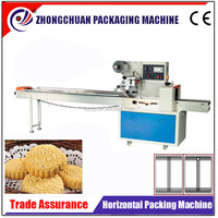 Automatic Horizontal Flow Wrapper with Auto Splicer/ Plastic film Packing/Packaging Machine