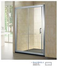 Foshan factory price qualify gloss finish sliding door glass shower room (BK2-A)