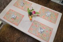 STCOKS clear table mat , hot water mat , kids table mats