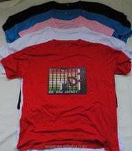 2015 Newest wholesale el child flashing t-shirt