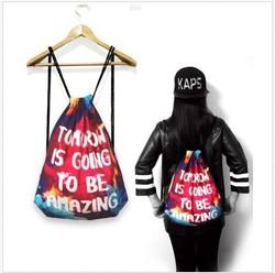 China Wholesale Useful Stylish Polyester Drawstring Bag, Newly Designed Drawstring Bags In Yiwu