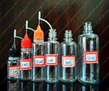 PET bottle with needle cap plastic bottle with metal needle