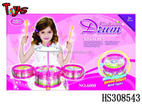 customized music play set mini drum toy