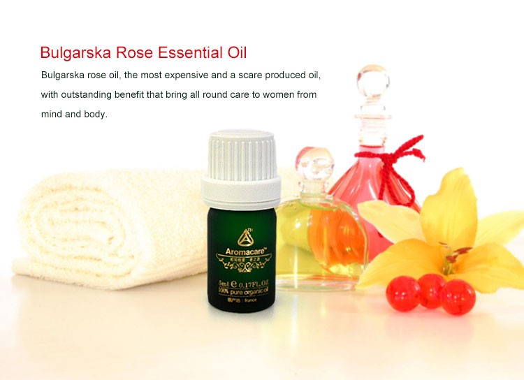 Aromacare 100% pure rose essential oil for aroma diffuser use