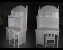 Dressing Table Acrylic Dressing Makeup Table