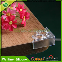 New design silicone table angle collision good for homehouse