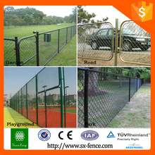 Basketball fence netting, fence count link fence