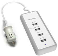 6.0A Car Use Adapter USB Charger Power Strip for iPhone and other Smartphone