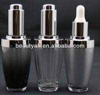 15ml 30ml acrylic cosmetic dropper bottle for packaging