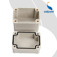 50*65*55mm Saipwell Grey Plastic Enclosure Box High Quality Waterproof IP65 Small Plastic Enclosure for Electronic Sensor