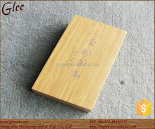 Handmade Bamboo Storage Gift Box with Sliding Lid