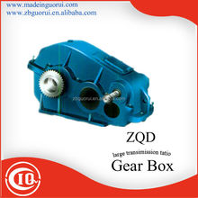 ZIBO GVORVI ZQ(H)250-31.5- I ~IX-N/S input speed 750 rpm ,middle service , high efficiency bevel gear box