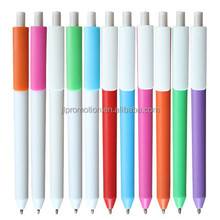 Hot selling Custom Logo Plastic ballpoint pen/promotional plastic ball pen/pens with logo print plastic