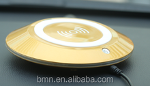 Newest WPC1.1 BMN909-3 Golden Silver delicate UFO design vehicle air purifier with activated oxygen atoms