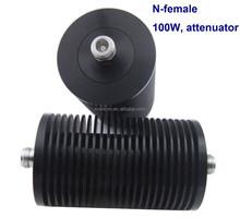 N female to N female connector, RF 60dB coaxial Attenuator 100w- fixed attenuator, attenuador,high quality