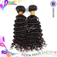 Charming 6A grade deep wave human hair for braiding