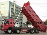 Sinotruck HOWO 12 wheel dump truck
