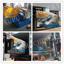 Q08 guillotine rubber cutter Building waste Super Performance