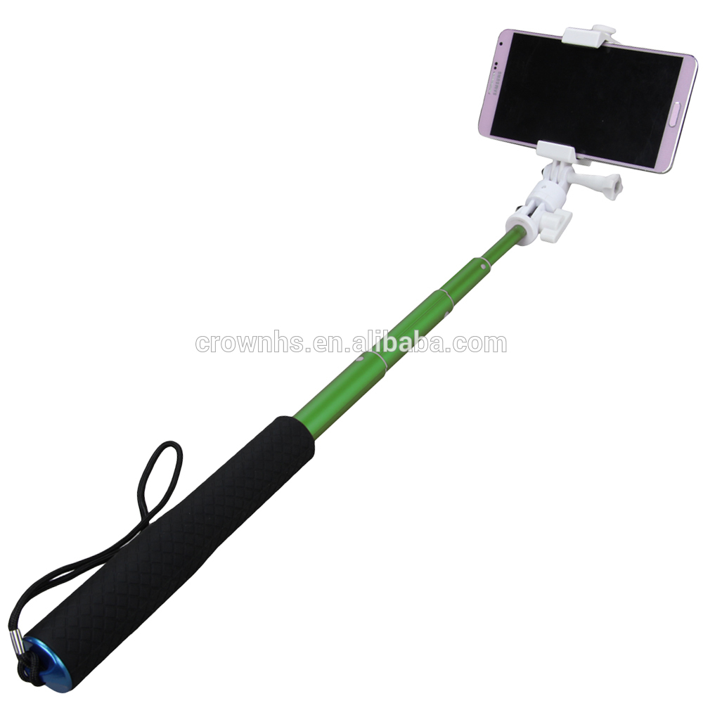 2016 classical cheap selfie stick wireless monopod bluetooth shutter button cable take pole. Black Bedroom Furniture Sets. Home Design Ideas