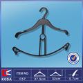 suspensión de plástico de rack para colgar la ropa y los pantalones