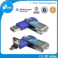 2015 hot sale custom usb, new design Multi function OTG usb flash Drive, OTG usb supply 8GB for android mobiles and computer
