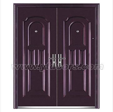 Wholesale door picture frame steel door exterior for External double doors and frames