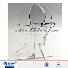 Head shaped new acrylic eyeglass holder