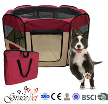 [Grace Pet] Deluxe Soft Sided Folding Pet Playpen