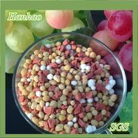 organic amino acid Shiny Prill with Humic Acid + NPK fertilizer for soil