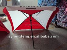 Size custom 4K Ribs apply to courtyard furniture,square umbrella