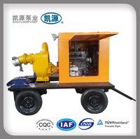 KYBC type Diesel Engine Driven Irrigation Water Pump cast iron body