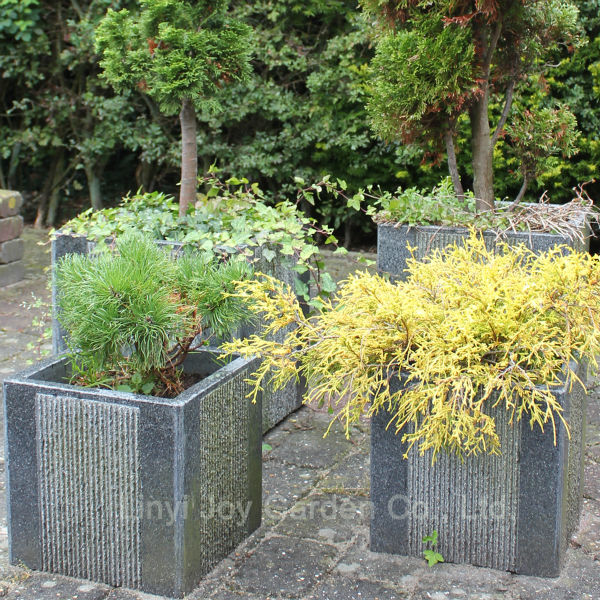 usine chinoise gros grande pierre de granit d corative ext rieure jardin pot de fleur pots. Black Bedroom Furniture Sets. Home Design Ideas