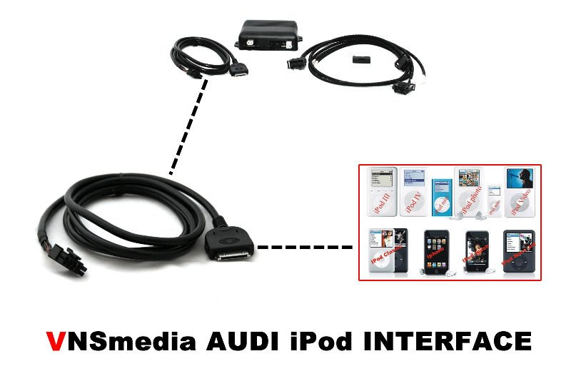 audi multimedia interface ami ipod mmi 2g q7 a6 a5 q5 a4. Black Bedroom Furniture Sets. Home Design Ideas
